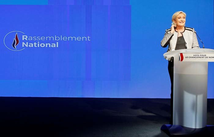 Европарламент за мошенничество остановил финансирование партии Марин Ле Пен