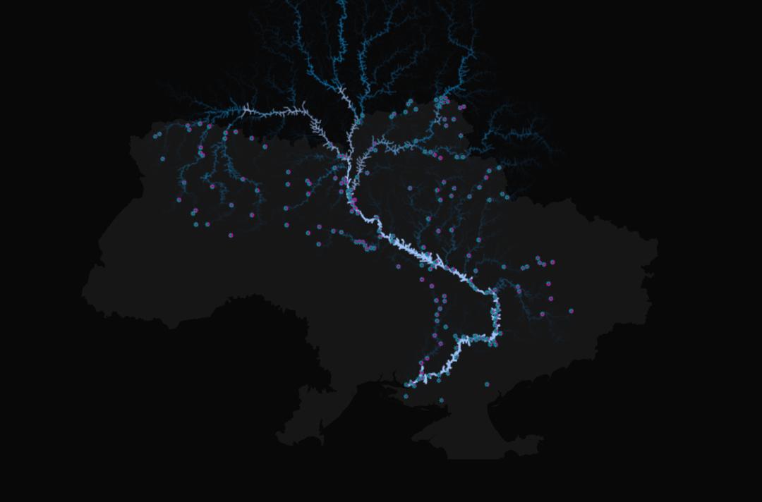 Кто больше всего загрязняет украинские реки — интерактивная карта