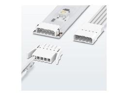 Новые компактные штекерные соединители для печатных плат с обжимным соединением PTCM от Phoenix Contact