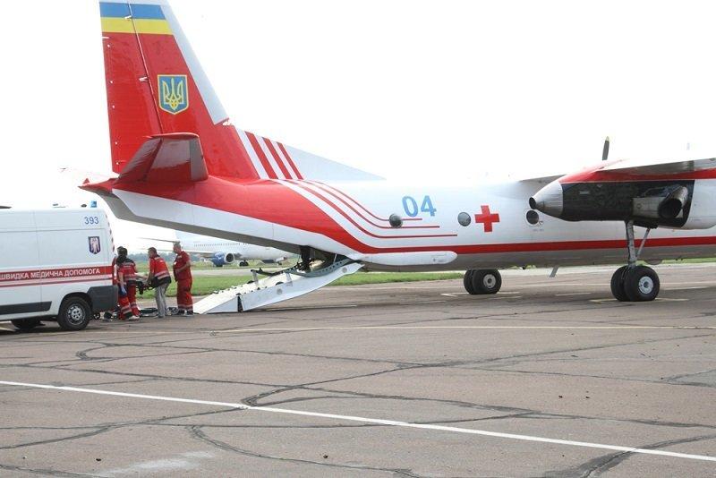 Катерину Гандзюк транспортировали из Херсона в Киев