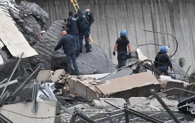 МВД Италии сообщило о 31 погибшем при обрушении моста в Генуе