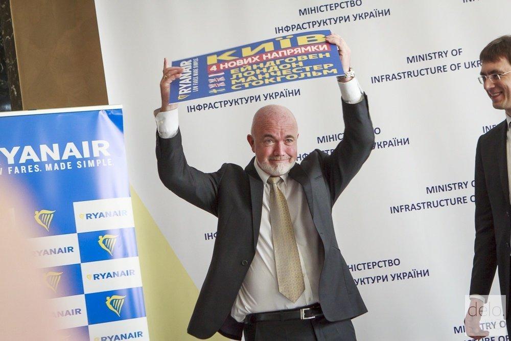 На следующей неделе Ryanair запустит первый рейс из Украины