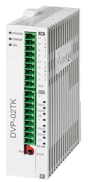 Модульные термоконтроллеры Delta DVP-TK