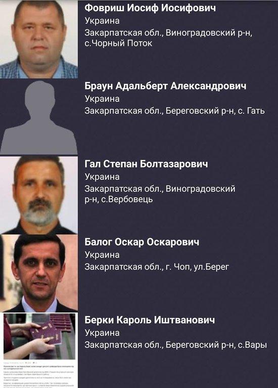 """Закарпатцев с венгерскими паспортами начали вносить в базу """"Миротворца"""""""