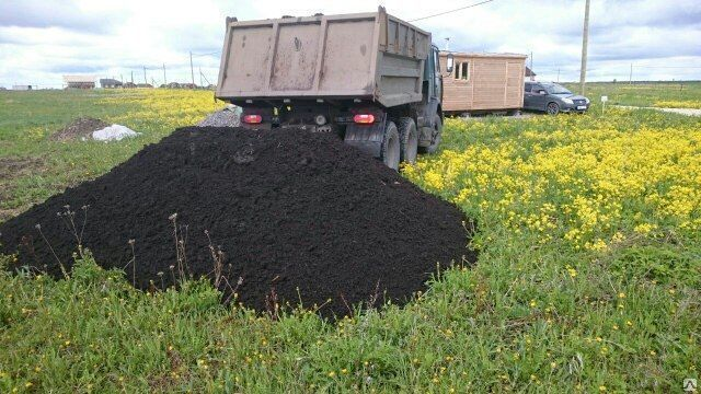 Растительный плодородный почвогрунт с доставкой