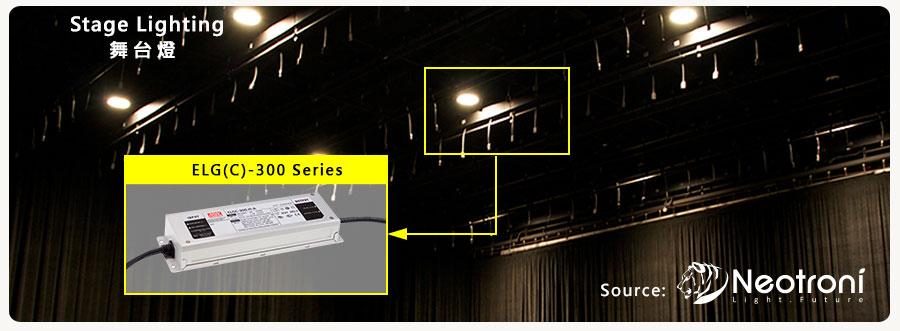 Высоковольтные светодиодные источники серий ELG-300 и ELGC-300 от Mean Well