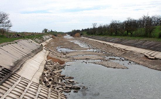 Украина назвала условия для возобновления подачи воды в Крым