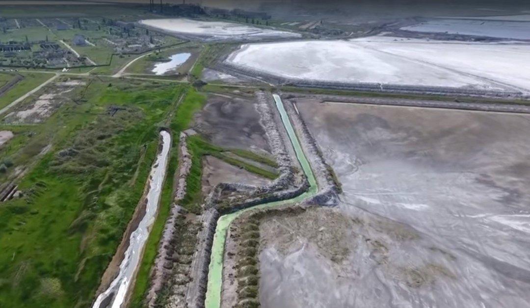 В почве в Херсонской области зафиксировали повышенное содержание сульфатов