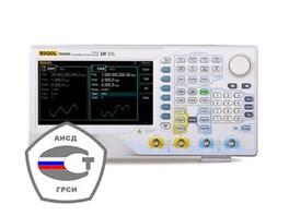 Продлен срок действия государственной сертификации в России для генераторов сигналов серии RIGOL DG4000