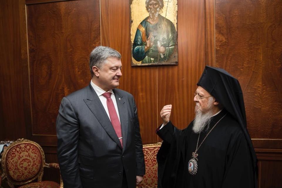 Андреевскую церковь передали Вселенскому патриарху — закон