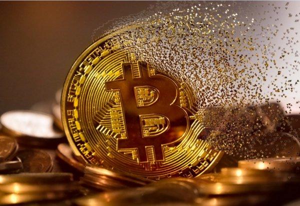 Цена на биткоин рухнула ниже $4 000