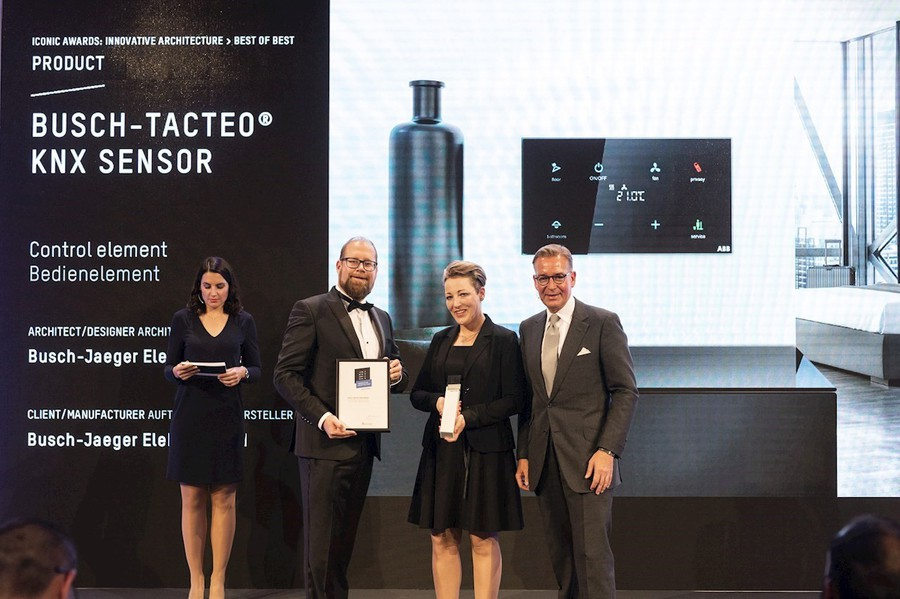 Сенсоры KNX ABB-tacteo® выиграли премию Iconic Award