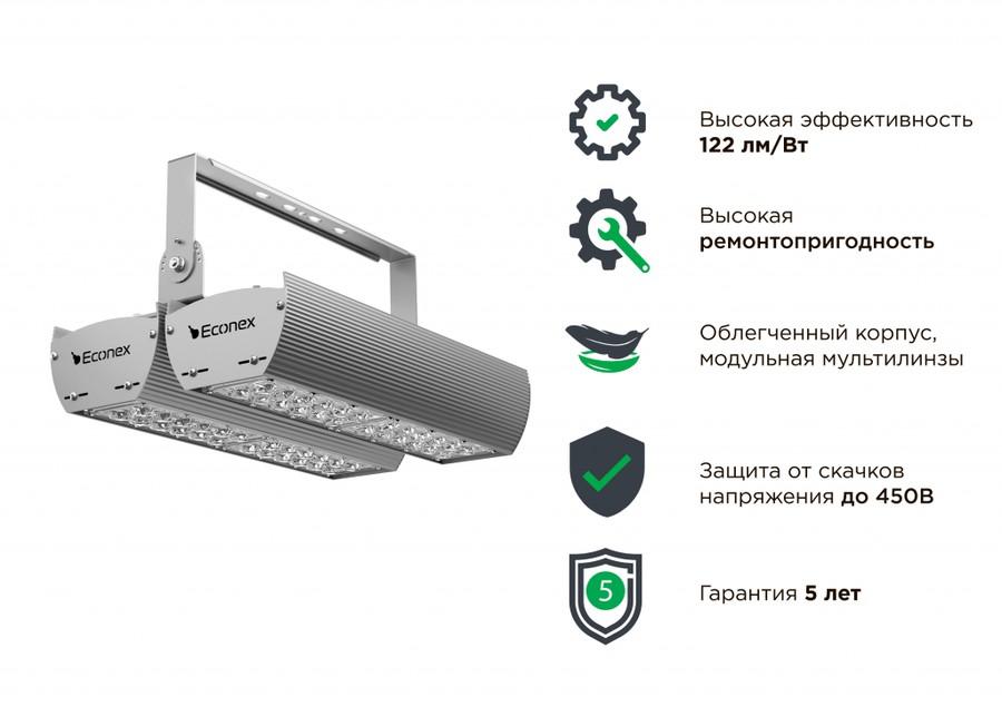 Завод «Эконекс» представляет серию промышленных светильников Econex Kvant