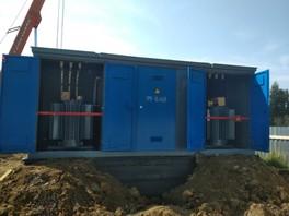 ООО «Белэнергоснаб» осуществил монтаж двух трансформаторной КТП в Санкт-Петербурге