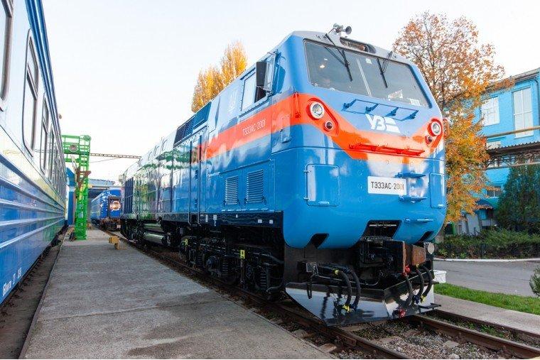 """Начались испытания локомотива """"Тризуб"""" General Electric"""