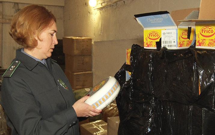 """Россельхознадзор уничтожил полтонны """"опасного"""" украинского сыра"""