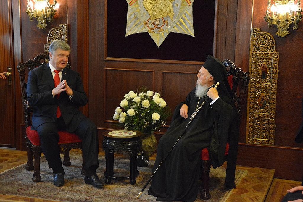 С сегодняшнего дня Вселенский патриарх может организовать ставропигию в Андреевской церкви