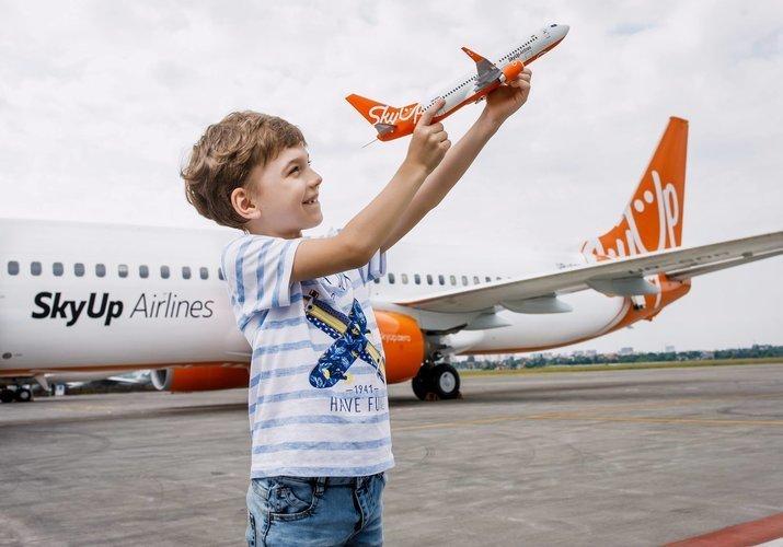SkyUp начала продажу авиабилетов на новые рейсы от 500 грн