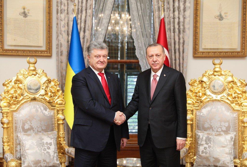 Турция заверила, что поддержит Украину в вопросе Азовского моря — Порошенко