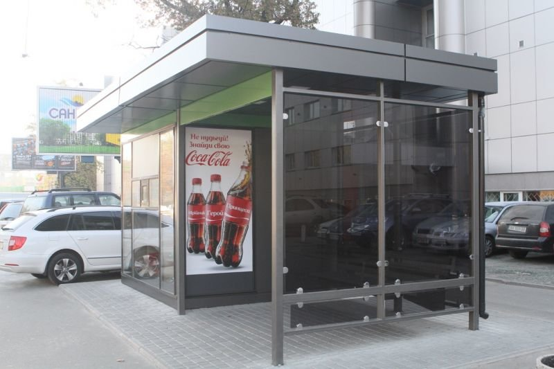 В Киеве начали замену остановок транспорта. Всего заменят 994 остановки