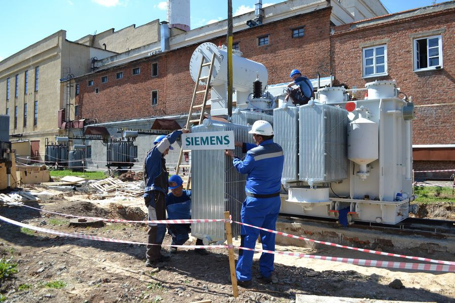 «Сименс» увеличивает мощность подстанции Йошкар-Олинской ТЭЦ-1