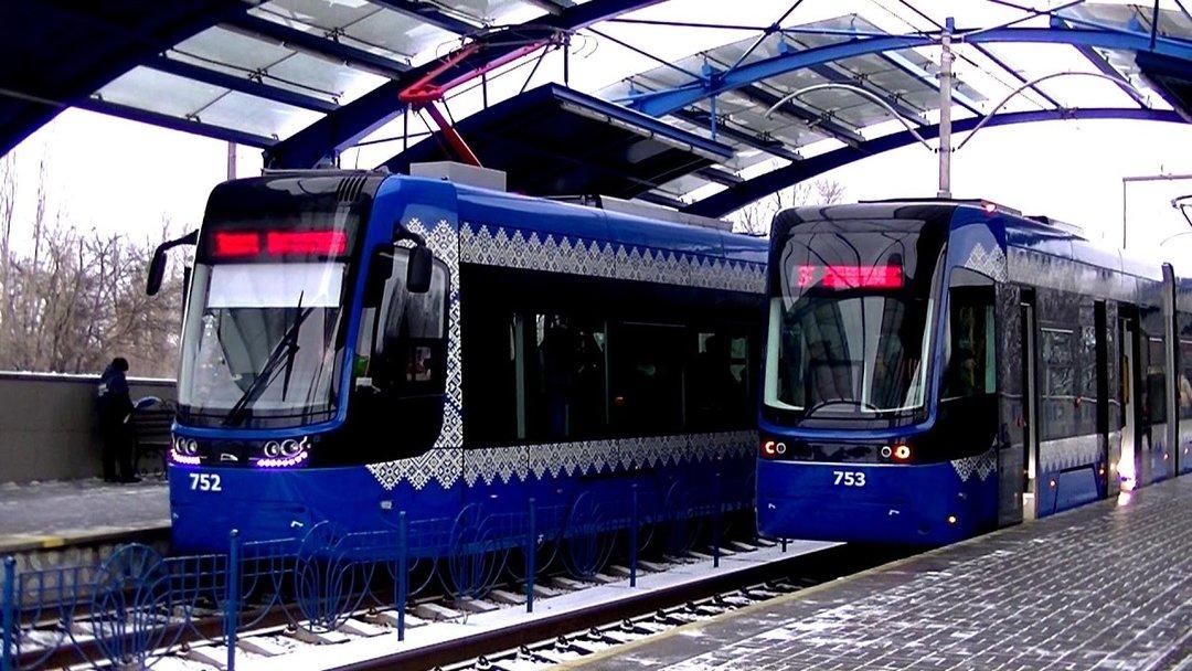 Киев получил 47 польских трамваев Pesa