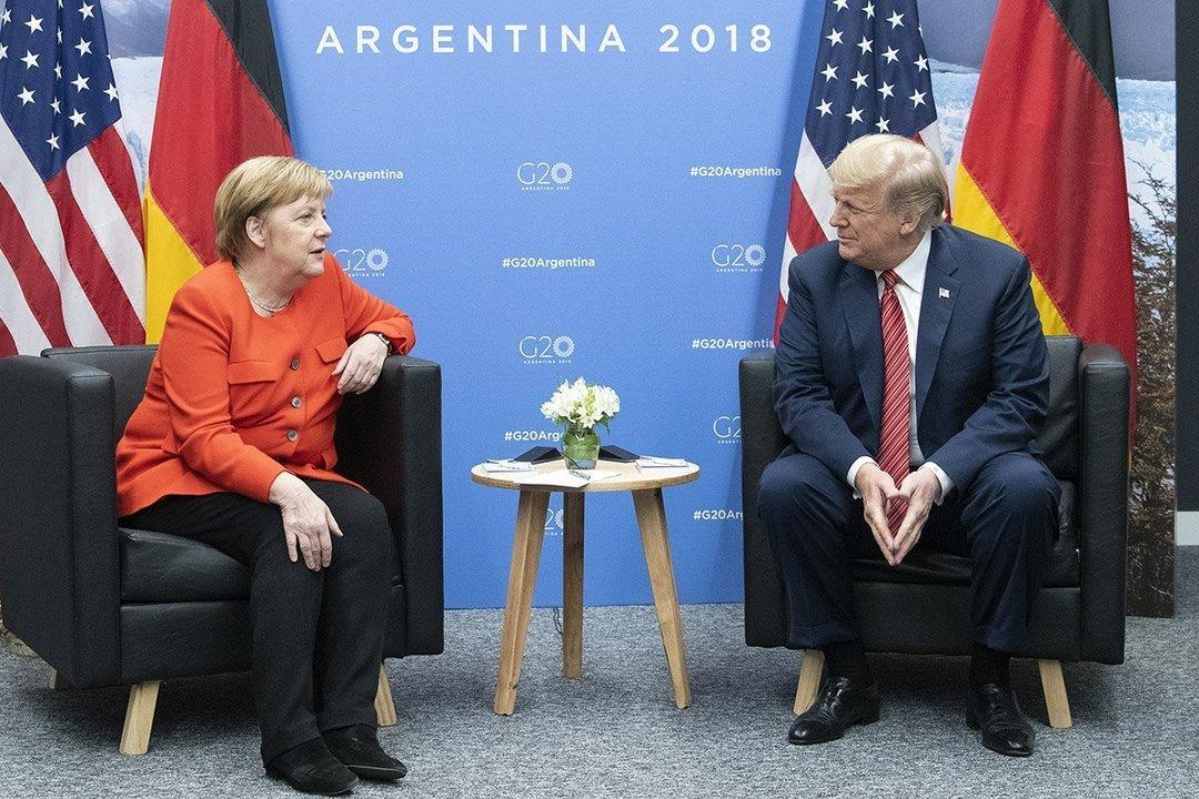 Трамп и Меркель обсудили инцидент в Керченском проливе