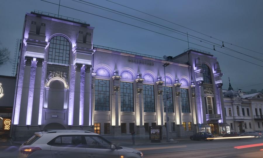 Освещение Свердловской филармонии оборудованием компании GRIVEN