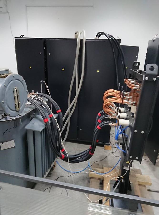 Специалисты НПП «Электромаш» произвели отладку автоматического стенда испытаний и проверки силовых трансформаторов нового поколения.