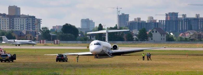 Авария в Жулянах: авиакомпания получила $1 млн от страховщика