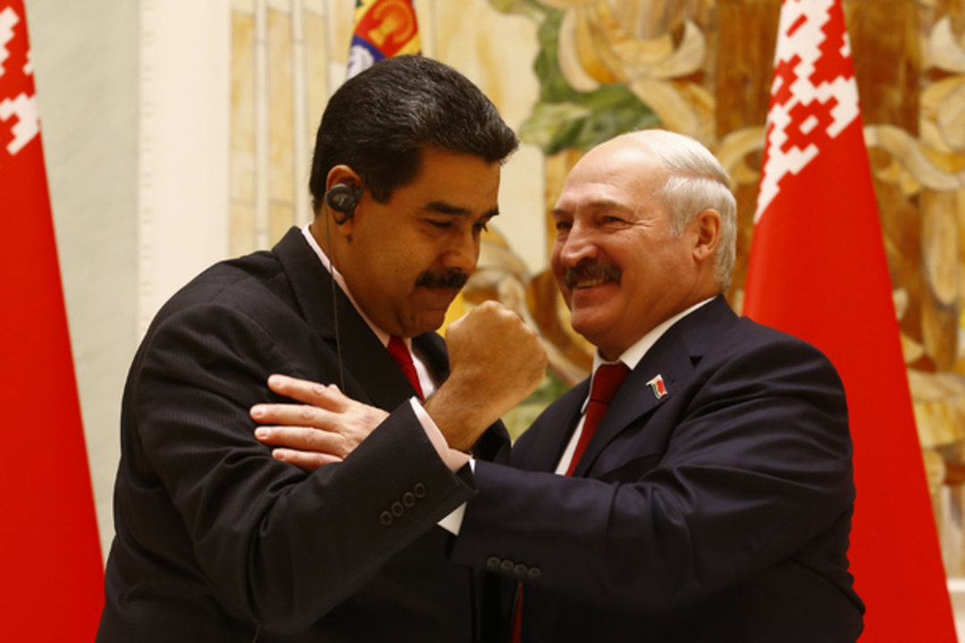 Лукашенко выразил поддержку Мадуро