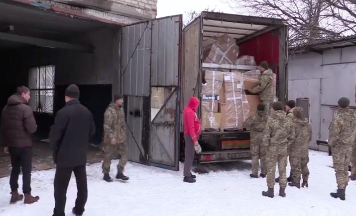 Украина получила гуманитарную помощь от Франции для больниц на Донбассе