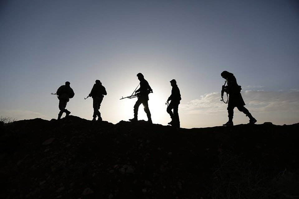 Сирийская оппозиция захватила в плен российских боевиков (фото)