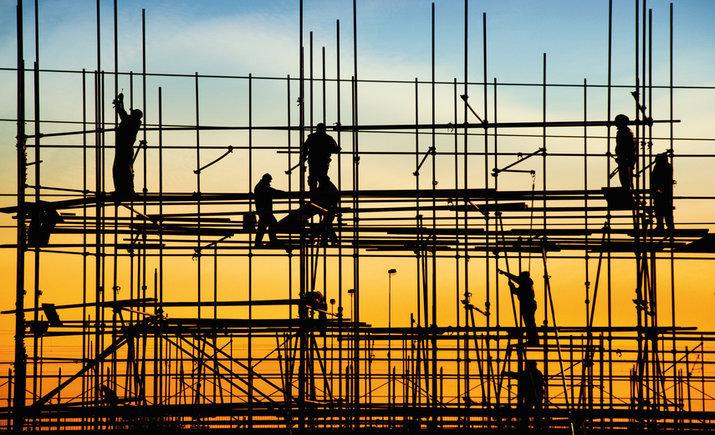 В Украине вырос объем выполненных стройработ на 4,4% — Госстат