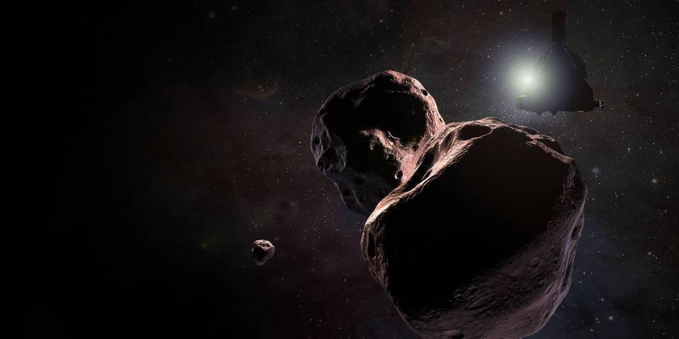 "Зонд New Horizons пролетел возле ""края света"""