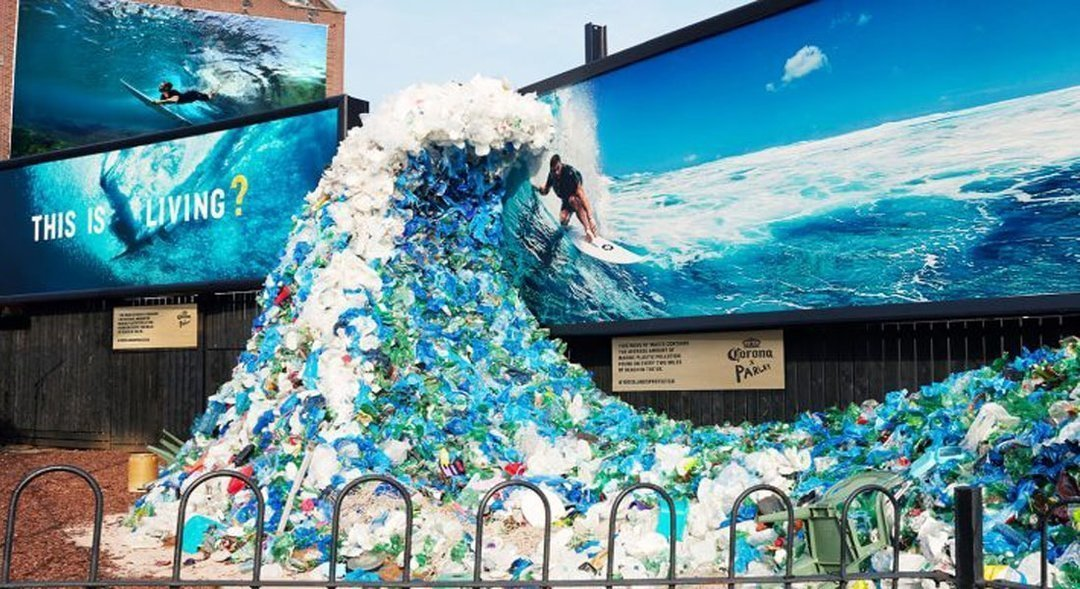 Инсталляции из пластика и smart-наружка: что сулят тренды мирового outdoor Украине?